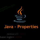 Java properties file - Radouane Roufid