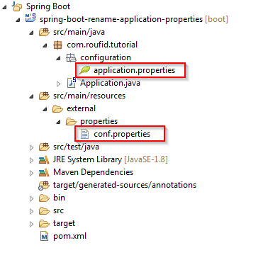Spring Boot multiple configuration files